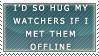 Hug watchers stamp by ARTic-Weather