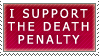 Death Penalty stamp by ARTic-Weather