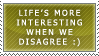 Disagreements stamp by ARTic-Weather