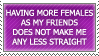 Female friend stamp by ARTic-Weather