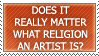 Does it matter stamp by ARTic-Weather