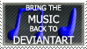 Music on DA stamp by ARTic-Weather