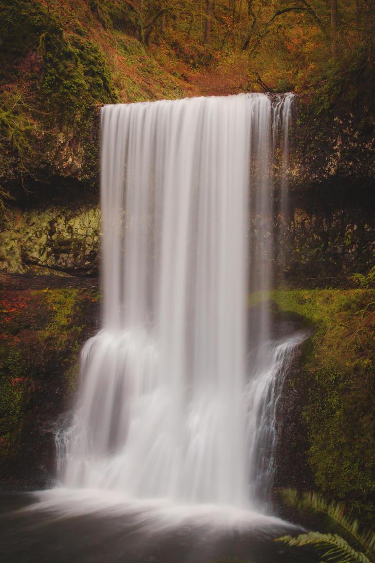 Lower South Falls. Silver Creek falls. by dellamort