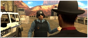 Heisenfort and Guard at the Dam 2
