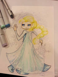 Elsa Sketch by Midimew