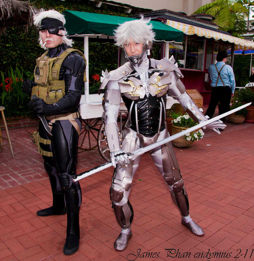 Anime Conji Old Snake - Raiden by Endymius