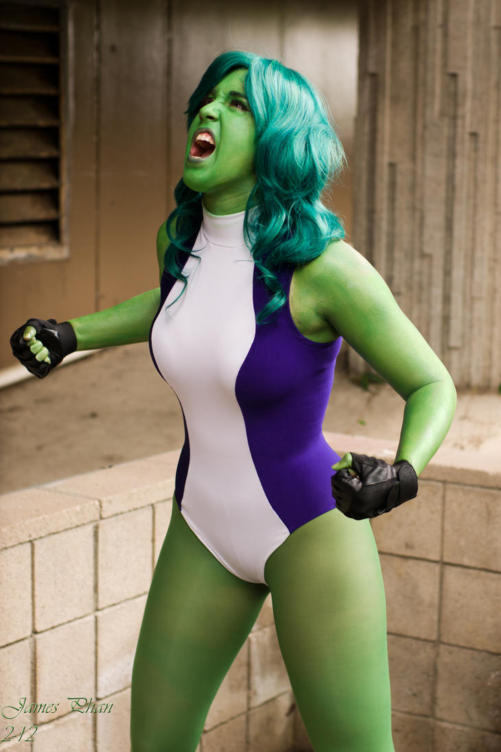 She-hulk: 2 by Endymius