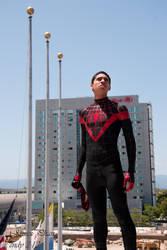 Ultimate Spiderman - Miles Morales by Endymius