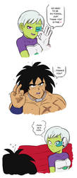 The Moment Everyone fell in Love with Broly by evideech