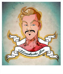 Mustache Hipster Joe