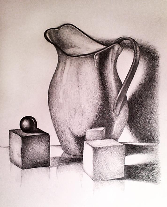Pencil 2H, HB, 3B by NGhabib
