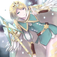 Fire Emblem Heroes - Fjorm by leonmandala