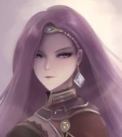 Fire Emblem - The Vengeful Mage, Sonya by leonmandala