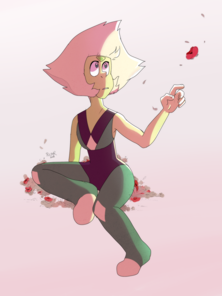 drawing her without her visor was kinda crazy peridot [c] steven universe I posted this & the lapis one on tumblr. flower rocks