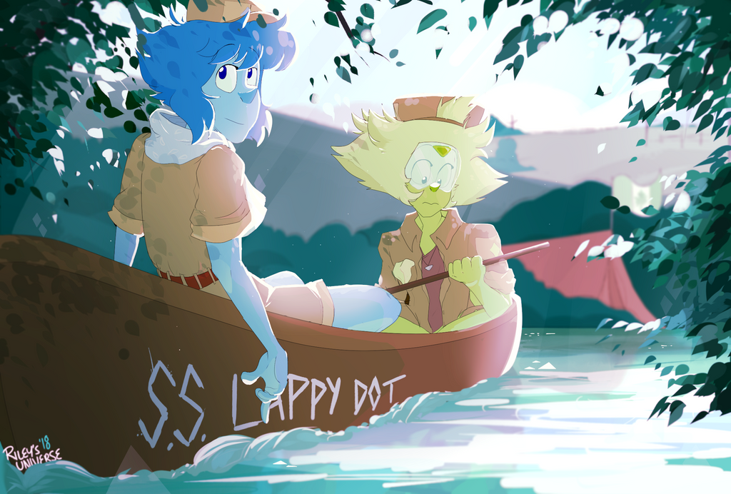 im really proud of this not the art,  but the ss lappy dot thing. hah. GOLD lapis lazuli & peridot [c] steven universe paint tool sai + photoshop i saw an art like this once upon a time la...