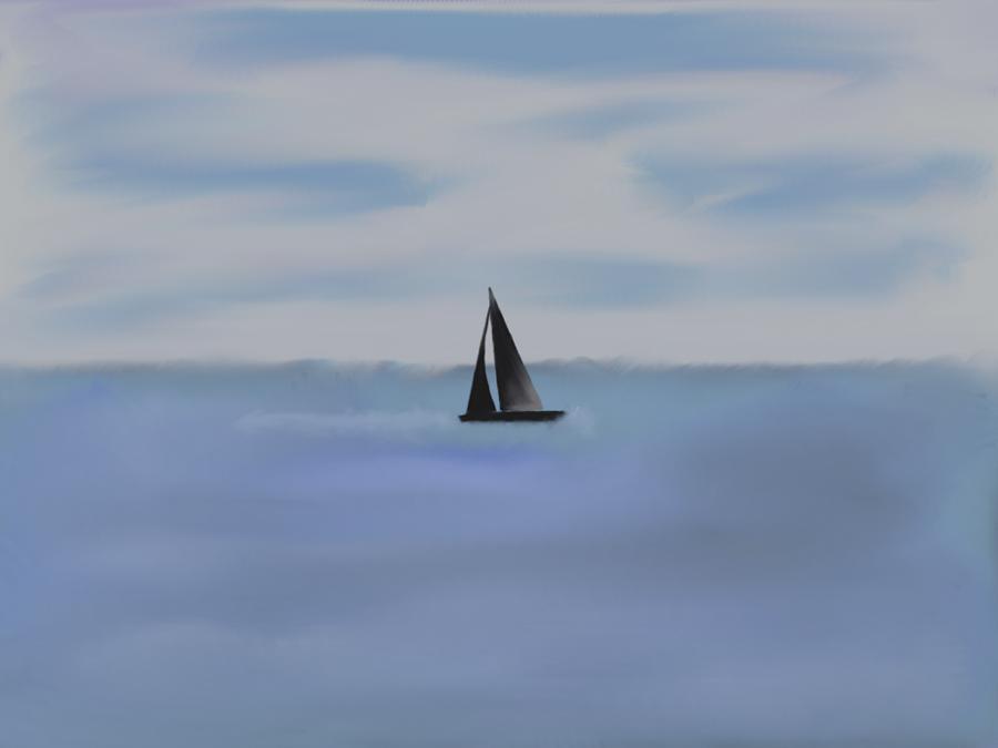 This isn't my sea... by caska1979