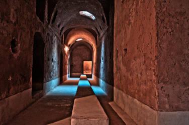 Palais Sadi Dungeons Marrakech Morrocco by LyttaMoon
