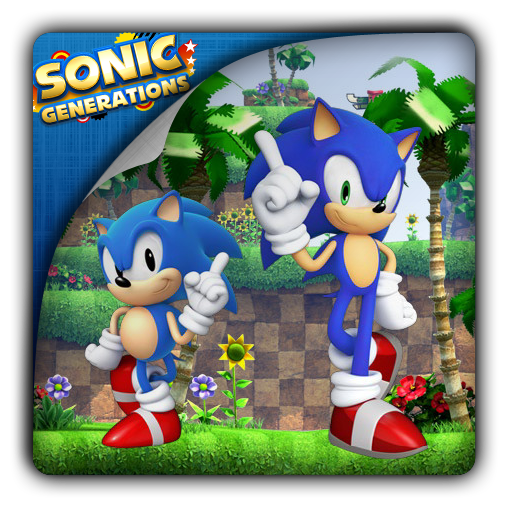 Sonic Generations icon by Themx141