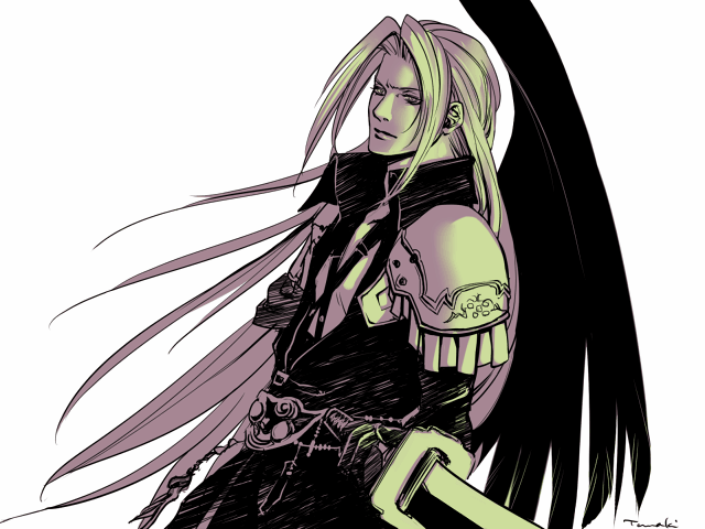 Sephiroth by hummingbird712