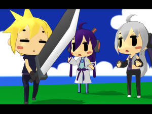 [MMD] Cloud Birthday [Video]