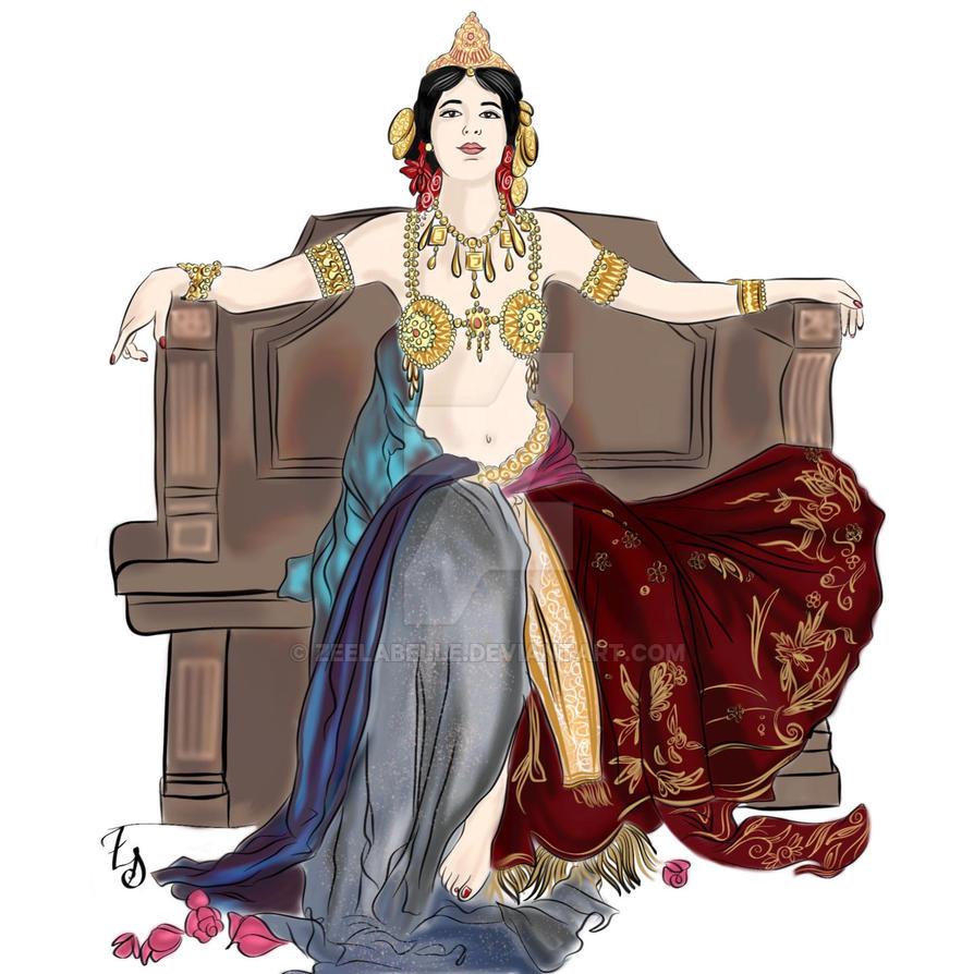 Mata Hari by zeelabelle