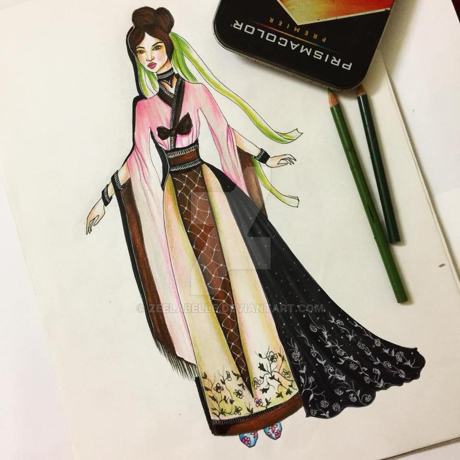 hanbok by zeelabelle