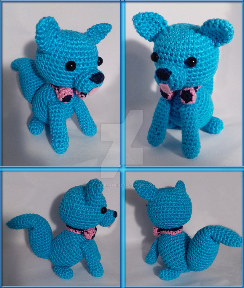 Amigurumi Headphones : Amigurumi: Aoba Seragaki, Dog Version by LinsCrafting on ...