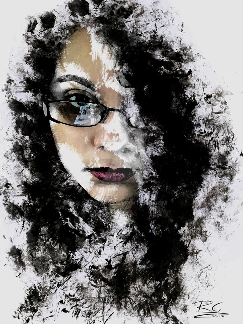 Iphone wallpaper artist - Self Portrait Charcoal Smudge Effect By Sonika49 On Deviantart