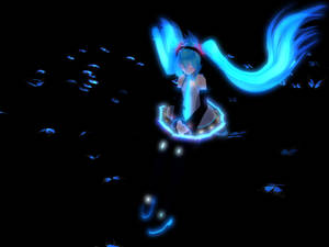 Dear Blue Butterfly by MMDTeto13