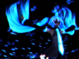 Dear Blue Butterfly - Miku 2 by MMDTeto13