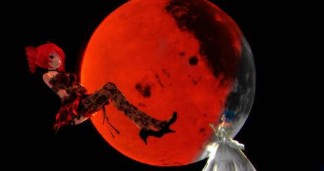 [MMD] - OG - Blood Moon by MMDTeto13