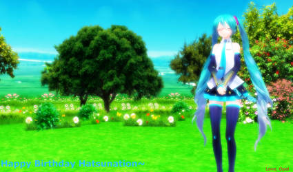 [MMD] - OG - Happy Birthday Hatsunation~ by MMDTeto13