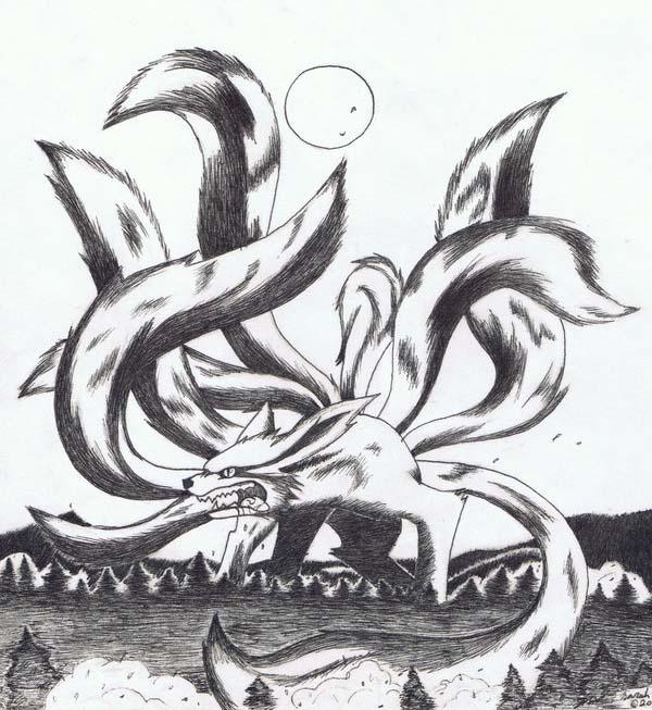Nine Tailed Fox: 2 By Rokhead423 On DeviantArt