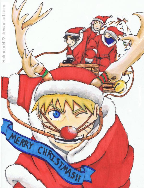 christmas anime naruto - photo #16