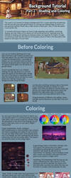 Background Tutorial 2 - Coloring and Shading by ghostchiryou