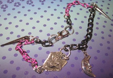 Werewolf Charm Bracelet by undeadxsiren