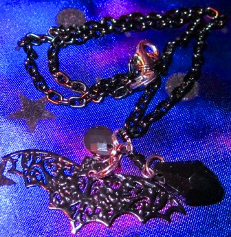 Filigree Bat Choker by undeadxsiren