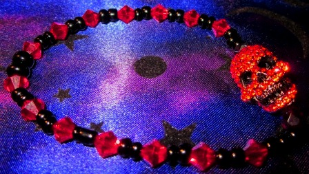 Masque of Red Death Bracelet by undeadxsiren