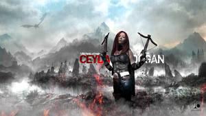 Wallpaper - Ceyda Dogan /Lilith Ventrue Cosplay