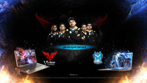Victor G301 / Team Turquality - Desktop Wallpaper