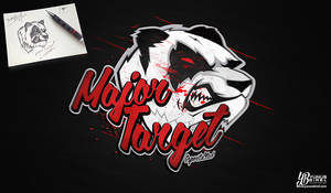 Major Target - Logotype and Mascot