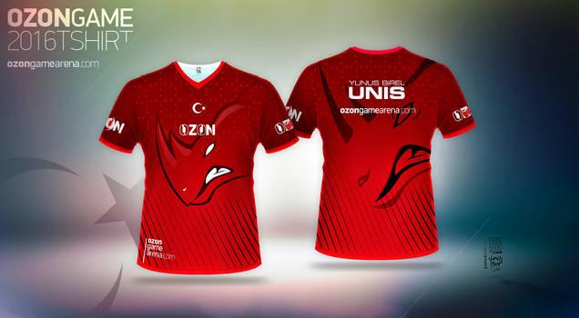 Ozon Game Arena E-Spor - T-Shirt 2016