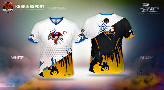 Keskin E-Sport - Tshirt Designs