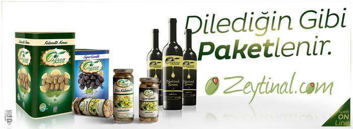 Zeytin Al - Packaging Designs