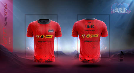 Vengeance Red Team 2017 Tshirt Design