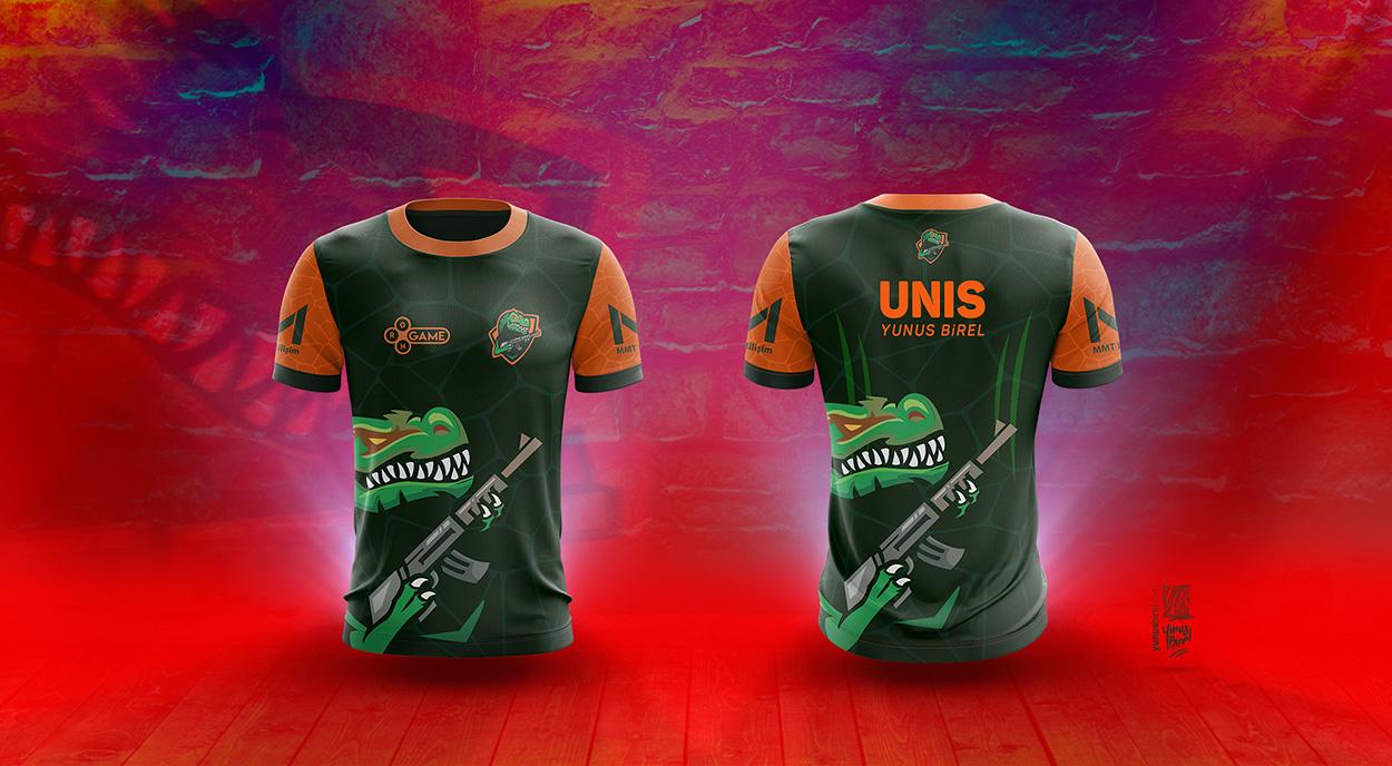 GodZilla e-Sport 2017 Season New T-shirt Design