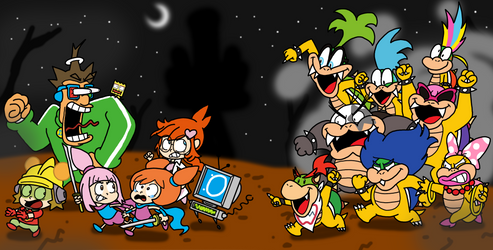 Here Come the Koopalings!