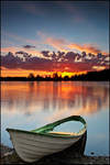 a Boat and the Sky
