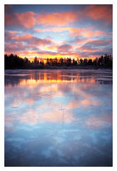 Lamsanjarvi Sunrise by jjuuhhaa