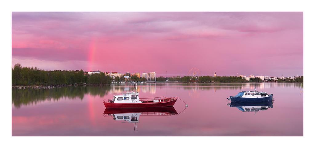 Oulujoki Delta Panorama by jjuuhhaa